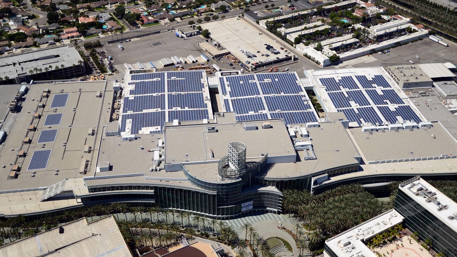 Anaheim Convention Center Solar 2.4 MW Project Celebrates One-Year Anniversary as it Hosts Solar Power International