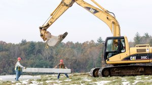 NYSERDA: Crews begin work on Ithaca College solar project
