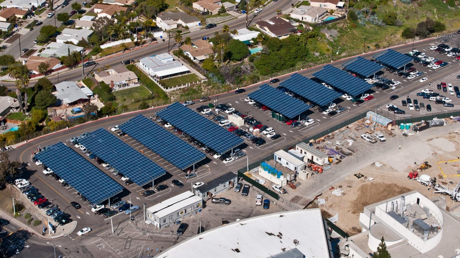 San Diego Community College District - Borrego Solar