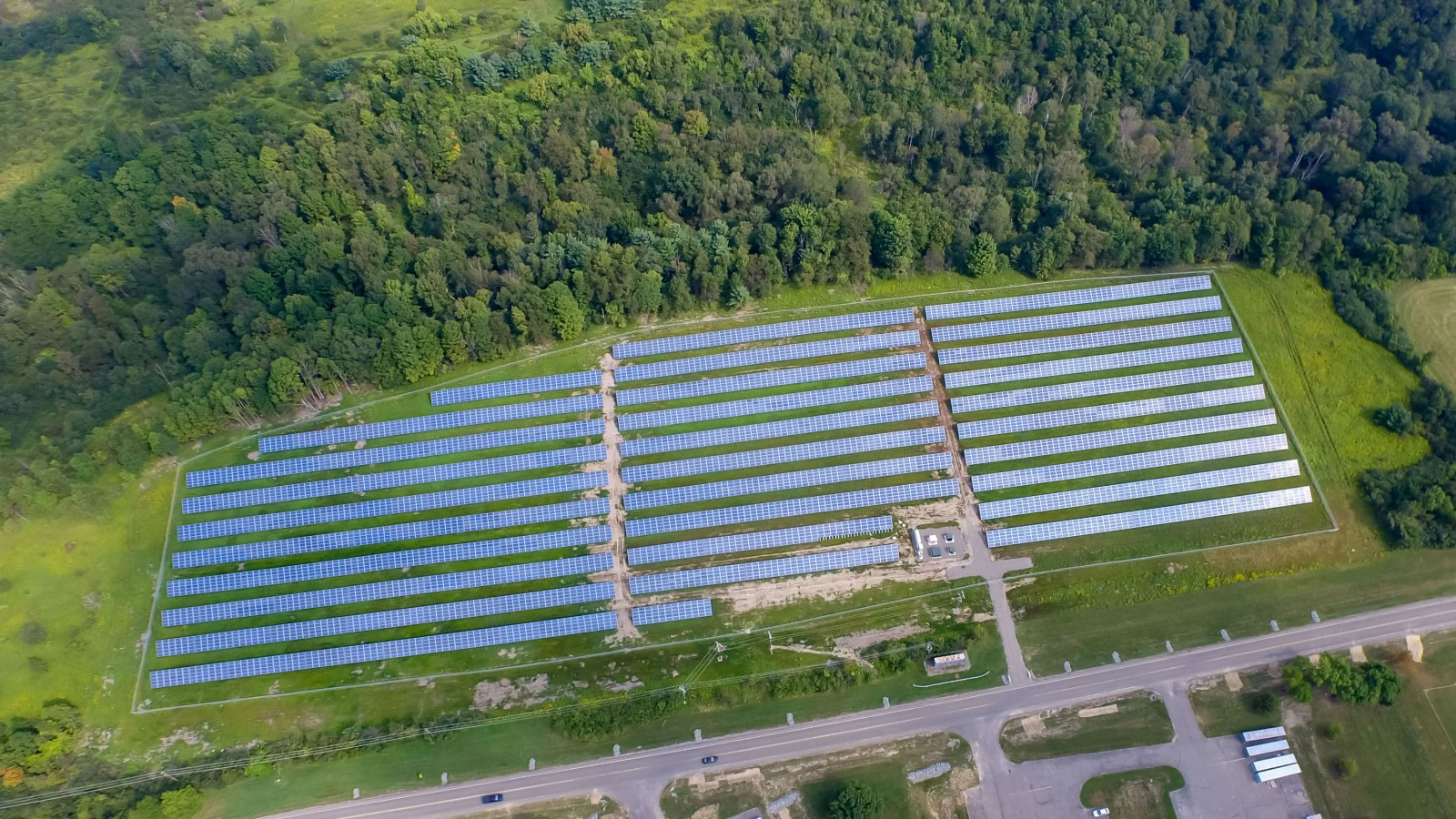 Borrego Solar Completes One of the Largest Solar Installations for College in New York
