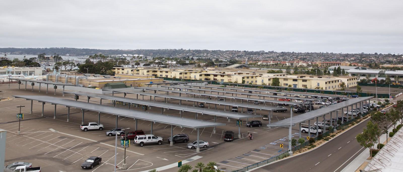 San Diego International Airport Borrego Solar
