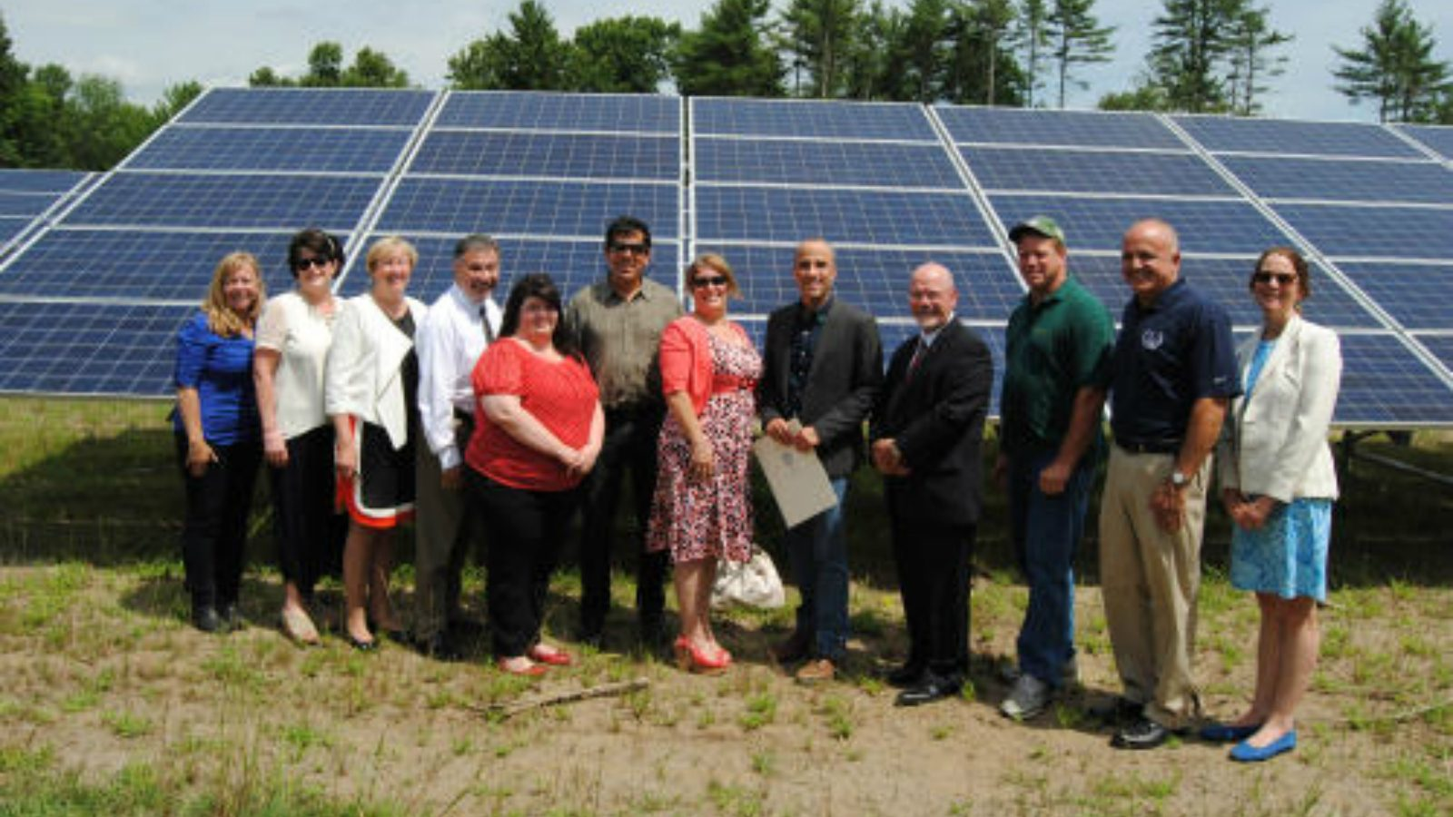 Pepperell Solar Array Has Lots of Folks Smiling