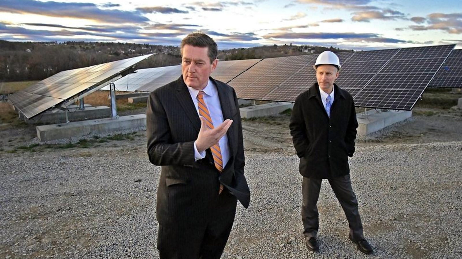 Solar Farm Takes Root on Former Worcester Landfill