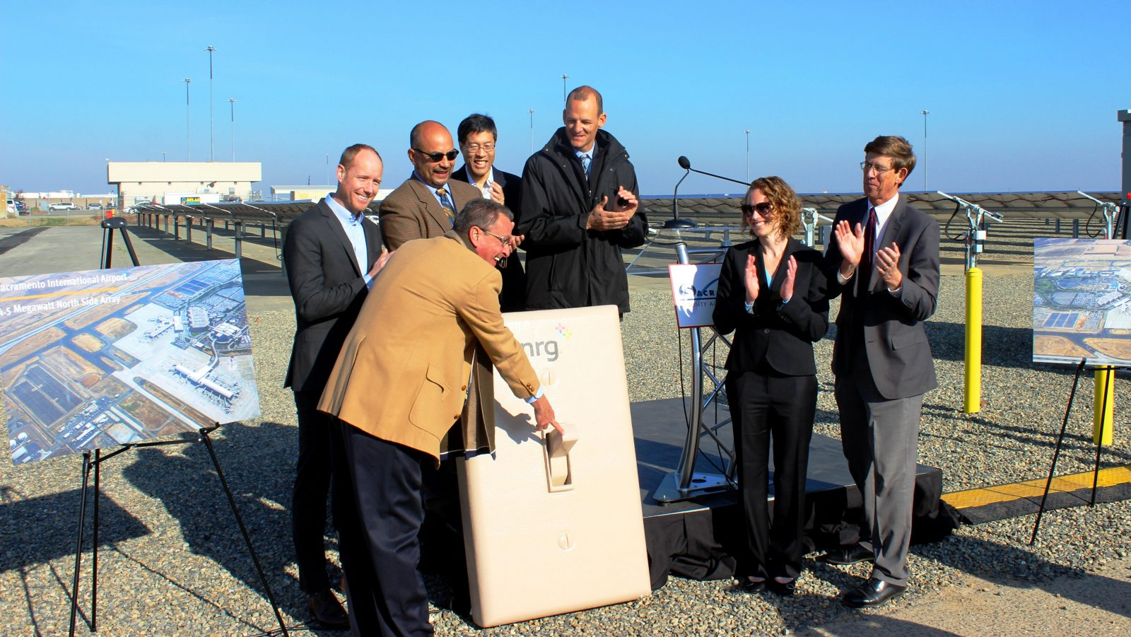 Sacramento Airport Celebrates New Solar Facility That Will Provide More Than 30% of Electricity