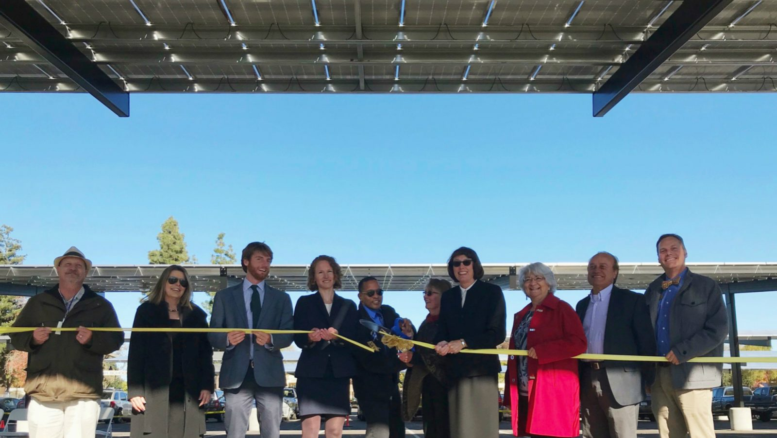 Gilroy Unified School District, Borrego Solar and SunRaise Investments Complete 1.6 MW of Solar Shade Structures