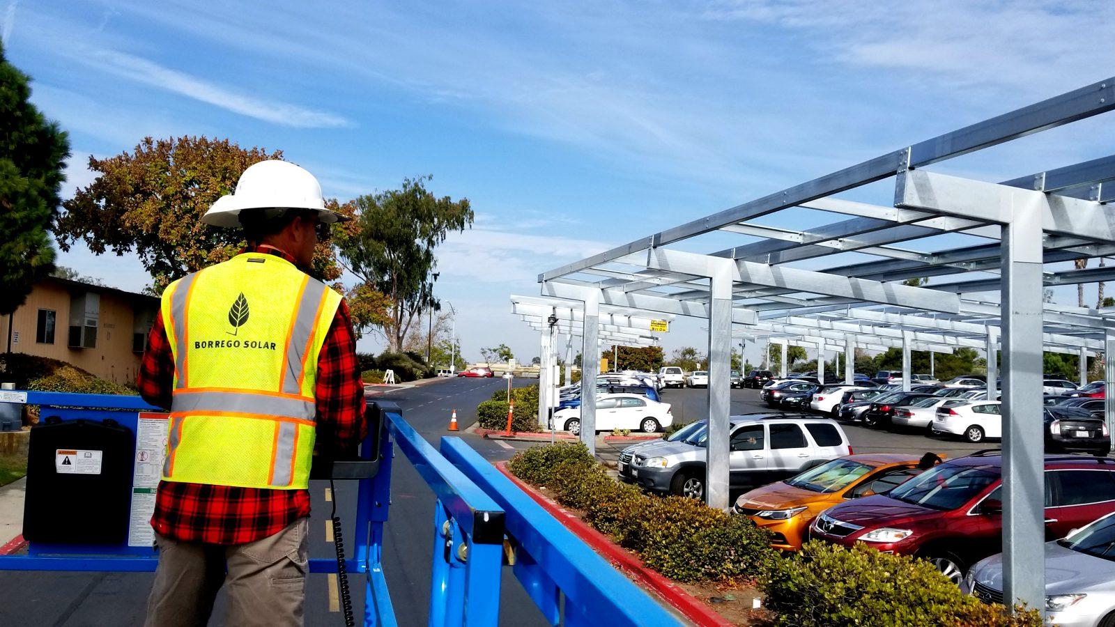 Borrego Solar Installing 1 MW Solar Project for San Diego County Office of Education