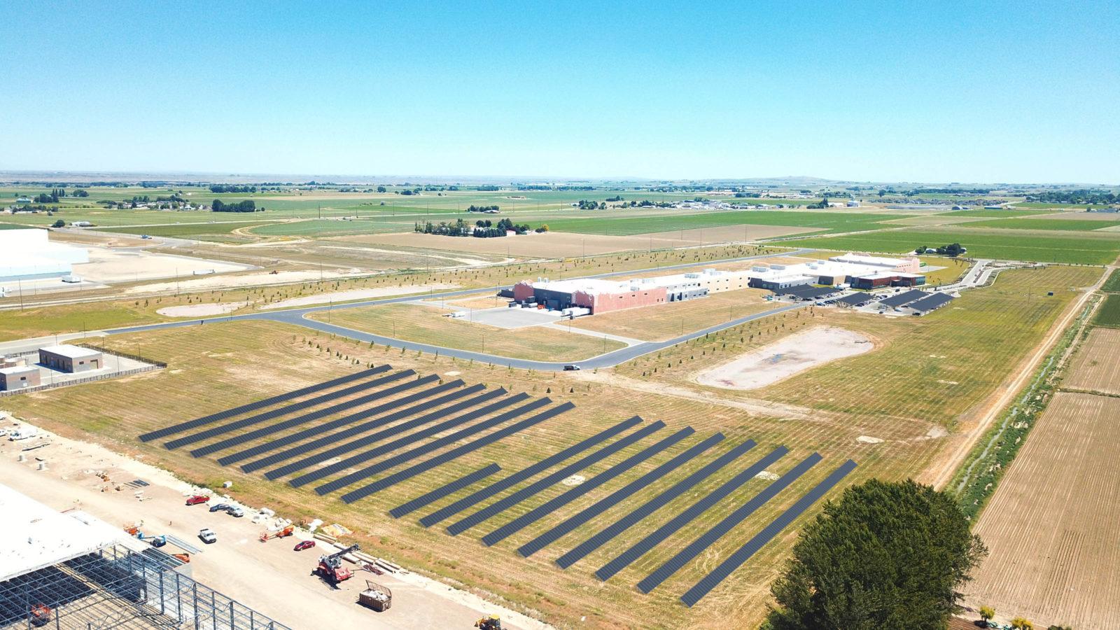 Clif Bar Goes Solar With New 5 Acre, 2 MW Solar Farm In Twin Falls, Idaho