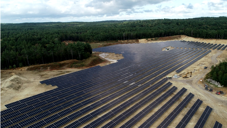 Massachusetts' Largest Community Solar + Storage Farm (Just Completed)